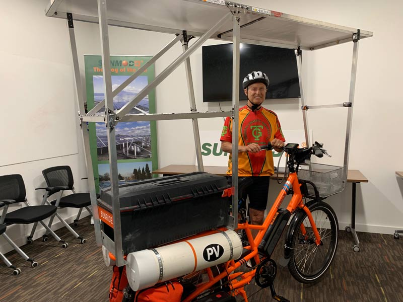 Sunride equipped for Trip