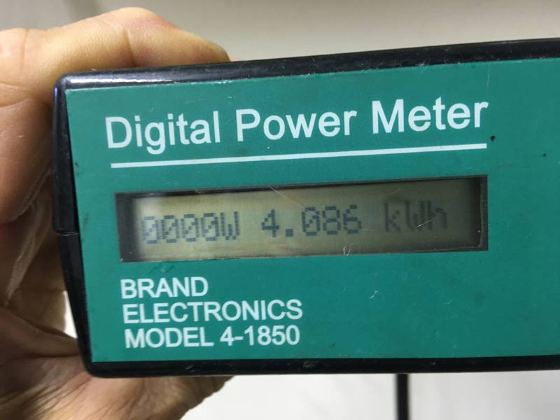 A Digital Power Meter showing a little over 4 kWh of non-solar energy used the first 400 miles representing 25% of total energy. So 75% of the energy for Sunride is solar power!