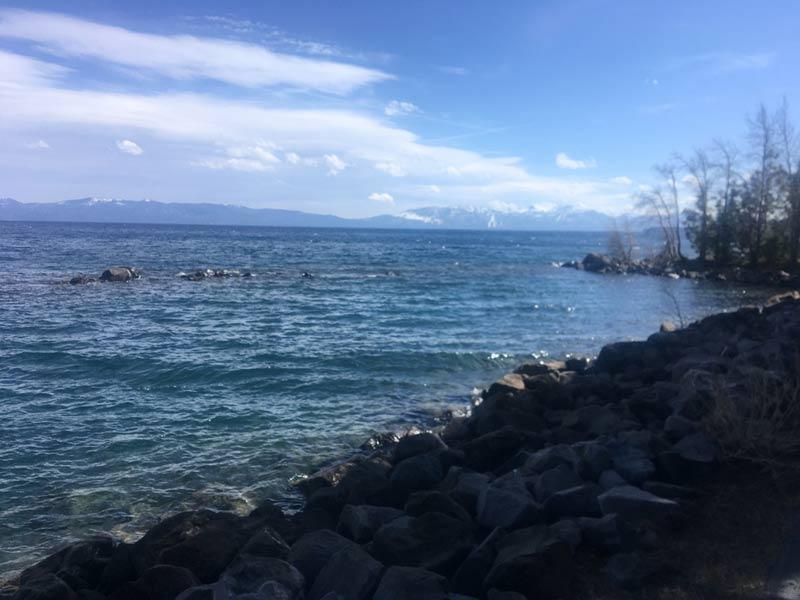 Southeast shore, Lake Tahoe