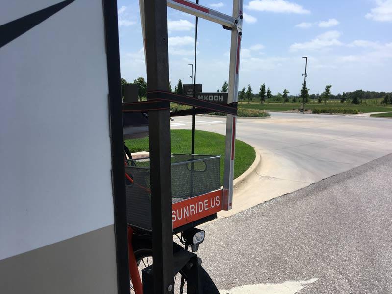 Sunride in front of the Koch Industries Campus, Wichita, Kansas