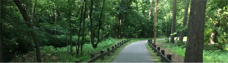 Greenway Trail in Big Stone Gap, Virginia