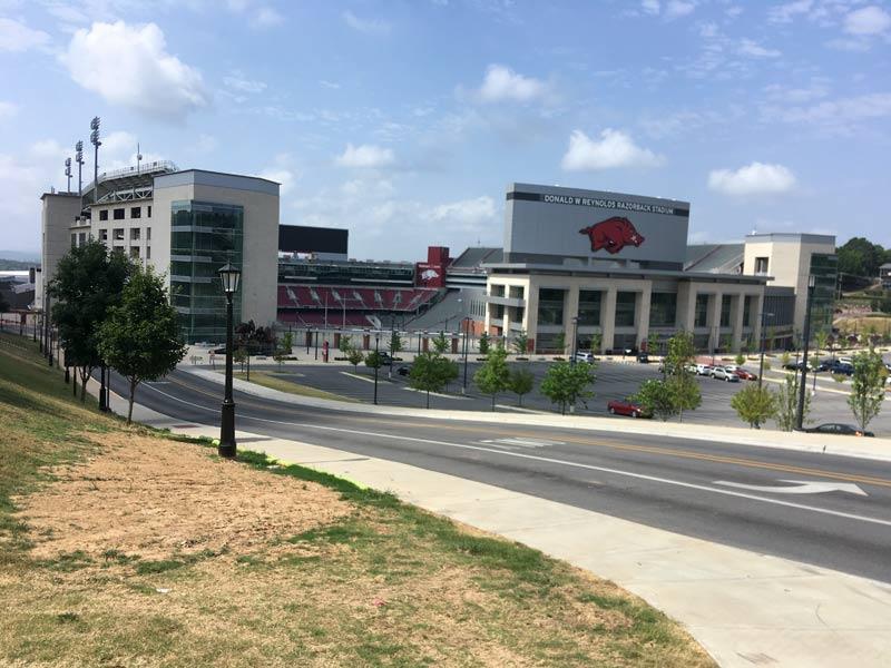 University of Arkansas Razorback Stadium
