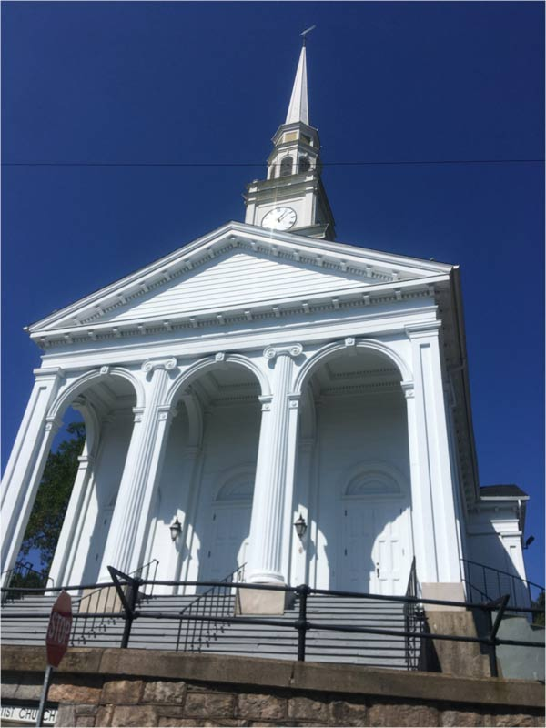Mystic Connecticut Baptist church
