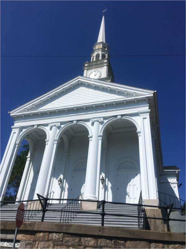 Mystic Connecticut Baptist church
